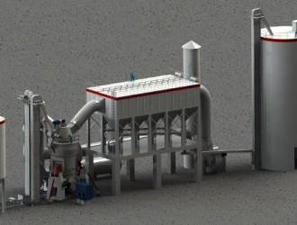 HRM型系列立式煤磨在石灰回转窑窑煤粉制备中的应用